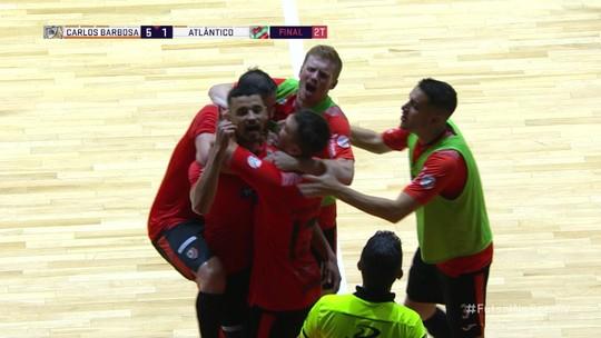 Carlos Barbosa bate o Atlântico de virada e conquista o Gauchão de futsal