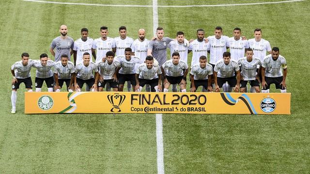 Os vice-campeões da Copa do Brasil