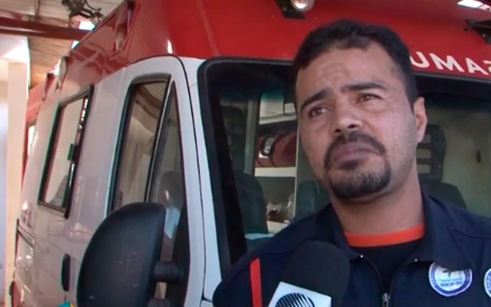 Motorista relatou que conseguiu despistar bandidos (Foto: Reprodução/TV Oeste)