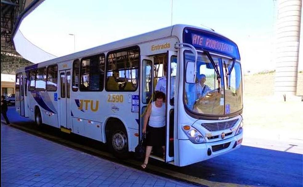 JTU opera transporte coletivo em Jacareí (Foto: Divulgação/PSTU)