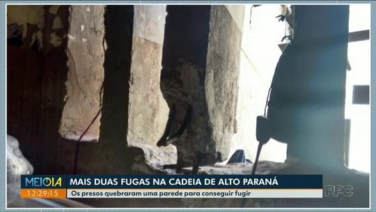 Cadeia de Alto Paraná registra duas fugas nesse fim de semana