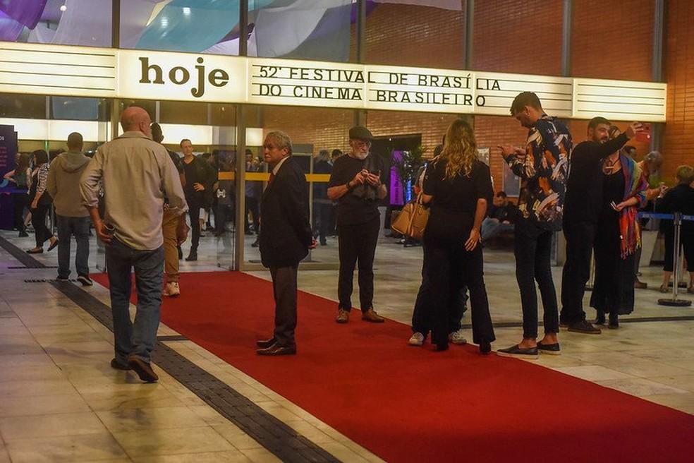 Cine Brasília durante a 52º Festival de Brasília do Cinema Brasileiro  — Foto: Mayangdi Inzaulgarat/Divulgação
