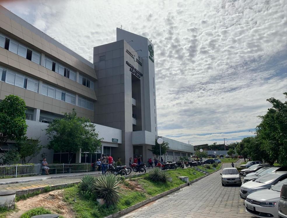 Hospital e Pronto-Socorro João Lúcio está entre unidades afetadas pela paralisação — Foto: Patrick Marques/G1 Amazonas