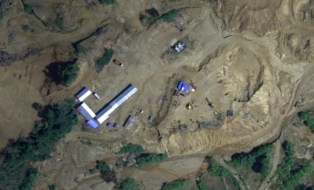 Mais de 20 mil imagens foram feitas em operação no início de agosto (Foto: Ministério da Defesa do Peru/AFP)