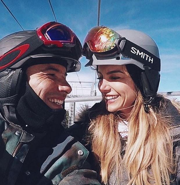 Marco Luque e Flavia Vitorino (Foto: Reprodução)