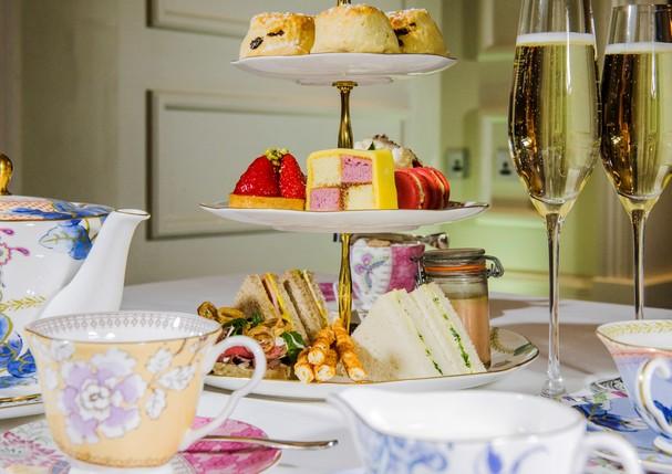 Aproveite o chá da tarde no hotel The Arch (Foto: Divulgação)
