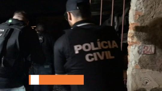 Operação prende suspeitos de cometer mais de 30 roubos em Canoas