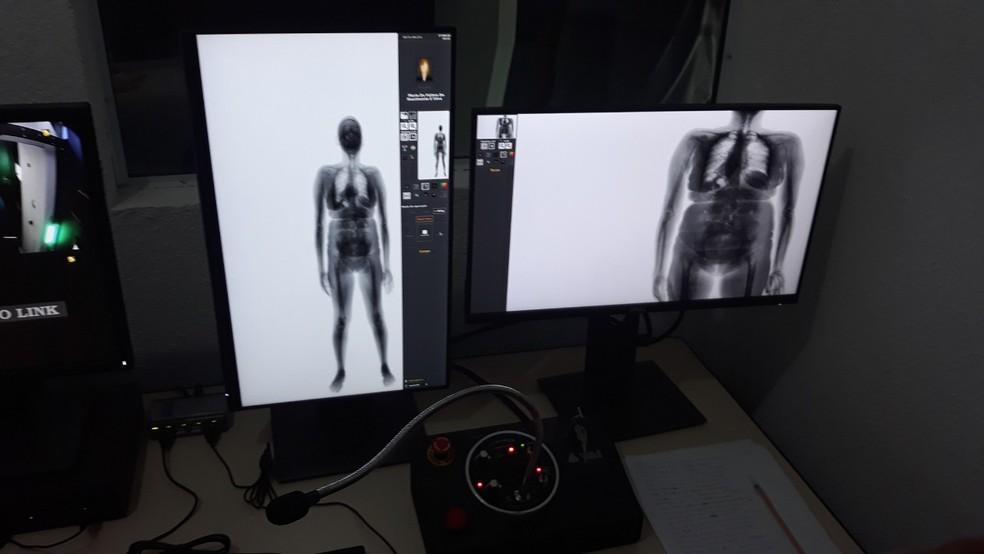 Body Scan passa a ser utilizado em Alcaçuz — Foto: Divulgação