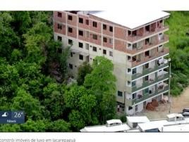 Mílicia ergue prédios de luxo em APA no RJ; água e luz são 'gatos' (Reprodução)