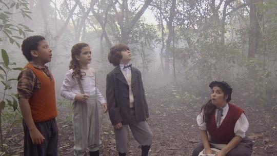 Amizade eterna! Reveja as travessuras de Felícia, Alex e Chico