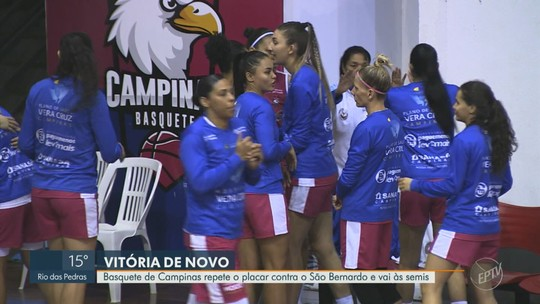 Campinas repete placar da ida, despacha São Bernardo em casa e garante vaga na semifinal da LBF