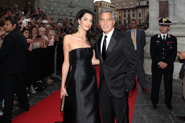 George Clooney e Amal Alamuddin. (Foto: Getty Images)
