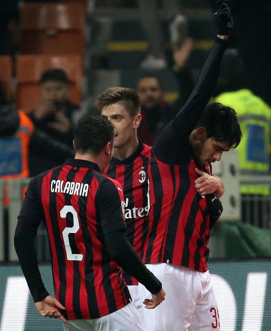 Paquetá faz seu primeiro gol pelo Milan, se emociona e homenageia vítimas da tragédia do Flamengo