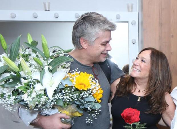 Fábio Assunção e Susana Vieira (Foto: Daniel Pinheiro/AgNews )