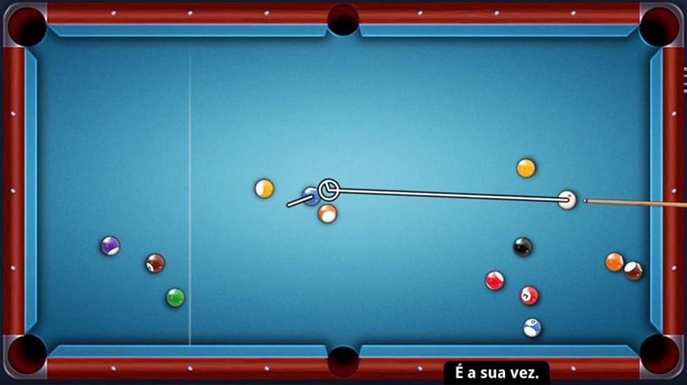 8 Ball Pool é um jogo de sinuca bastante completo e divertido para jogar online — Foto: Reprodução/Rafael Monteiro