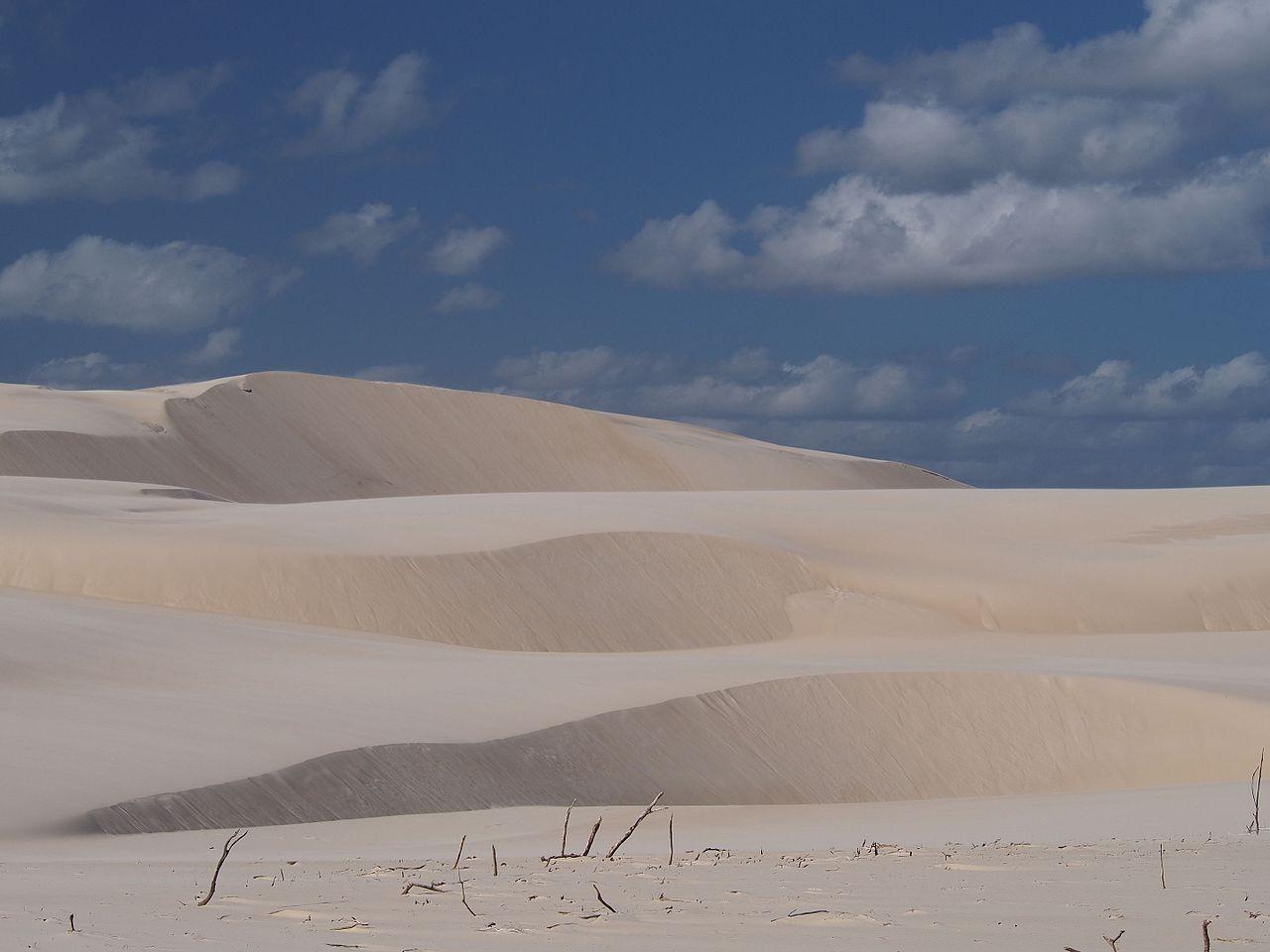 Dunas submersas teriam sido semelhantes às da Fraser Island, também na Austrália.  (Foto: Wikicommons / Proto353)