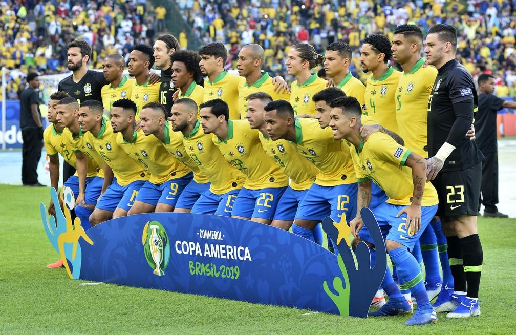 Brasil é campeão da Copa América-2019 — Foto: Marcos Ribolli