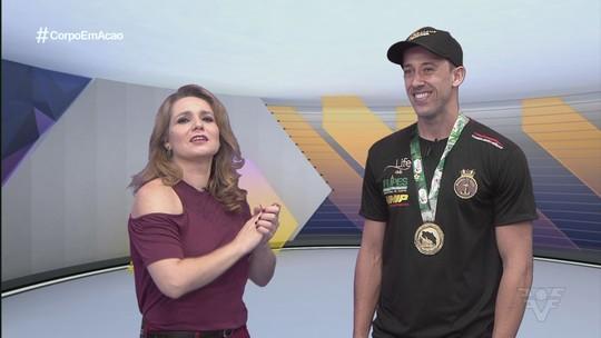 Henrique Precioso comemora conquistas com a Seleção de taekwondo