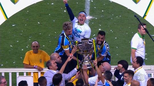Penta da Copa do Brasil, Grêmio aposta em história na competição para espantar má fase