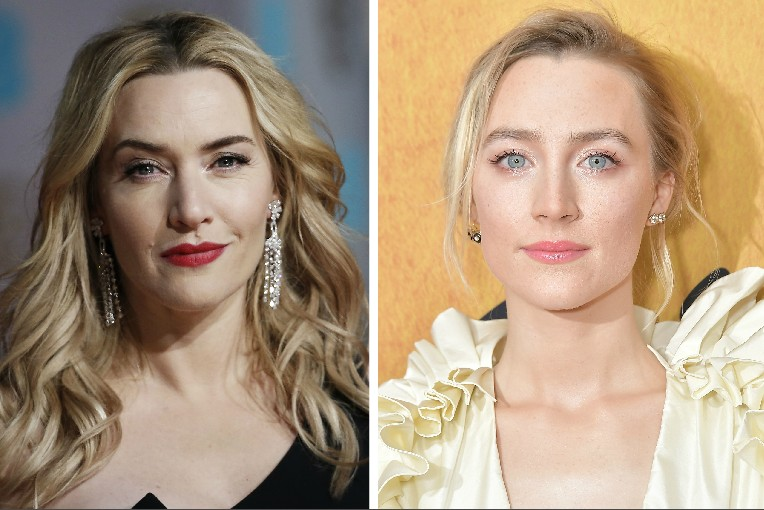 As atrizes Kate Winslet e Saoirse Ronan (Foto: Getty Images)
