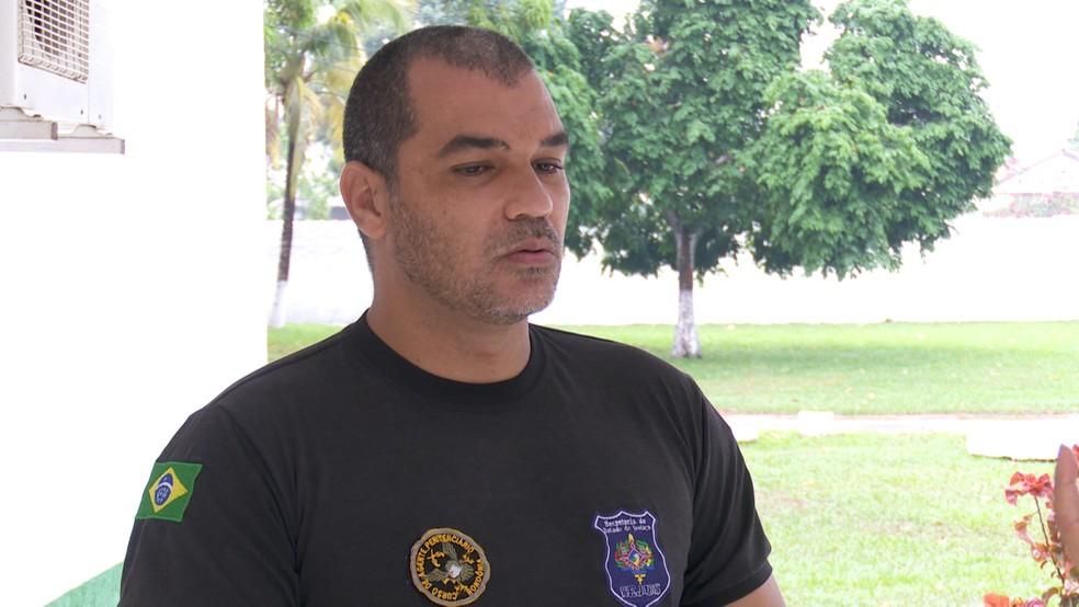 Representante Sindical Clebs Dias diz que facilitação foi do Estado e não dos agentes (Foto: Jeferson Carlos/G1)