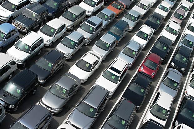 Vendas de automóveis (Foto: Shutterstock)