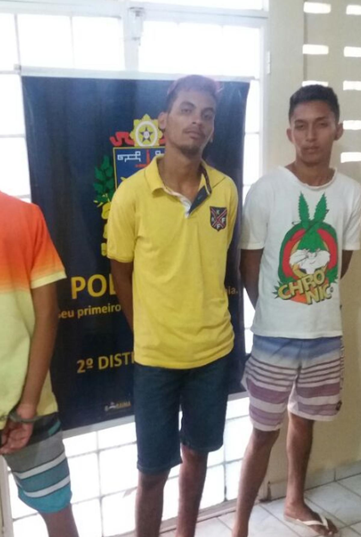 Três são detidos por tentativa de roubo por agente à paisana em Boa Vista