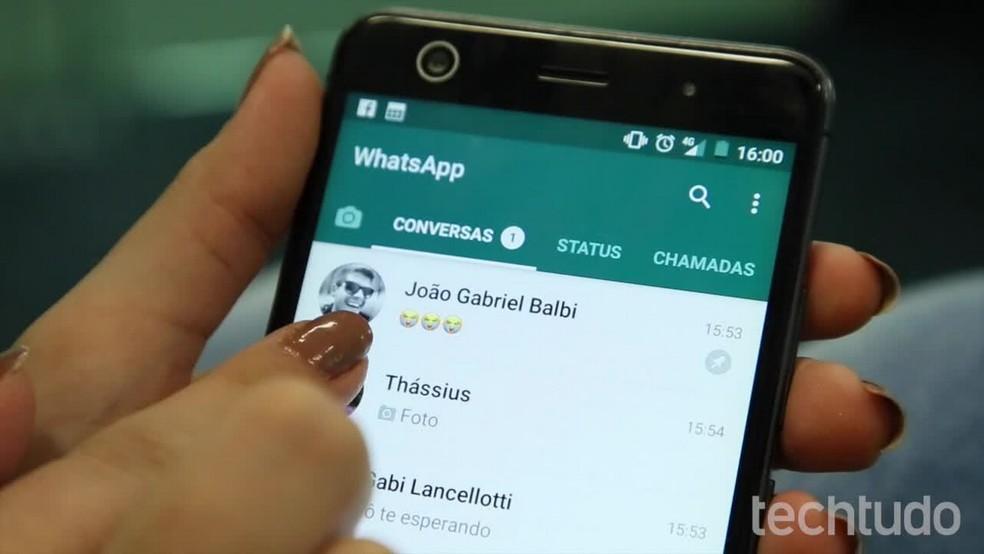 WhatsApp deve lançar ferramenta de detecção de link suspeito para combater spam  (Foto: Ana Marques/TechTudo)