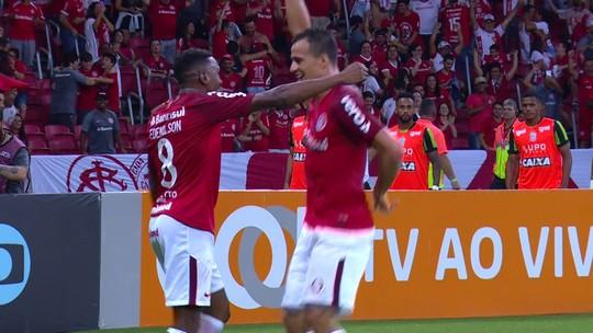 Retribuição! Damião deixa Edenílson na cara do gol: veja o segundo do Inter