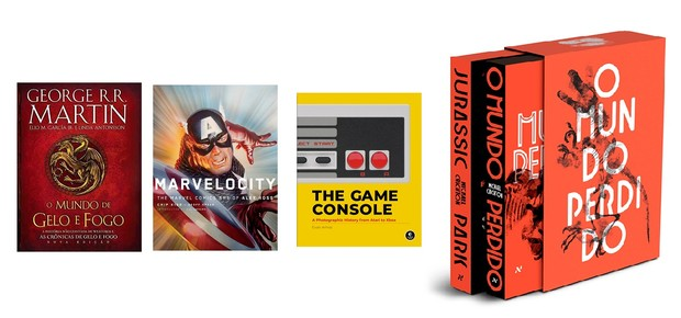 Livros  (Foto: Divulgação)