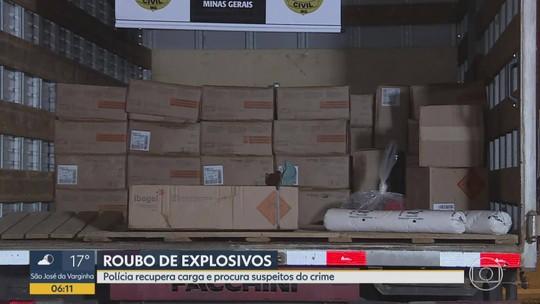 Polícia Civil abre inquérito para investigar roubo de carga de explosivos na Grande BH