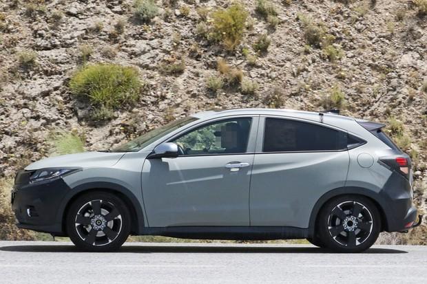Rodas também mudarão no HR-V vendido no Brasil (Foto: CarPix/Autoesporte)