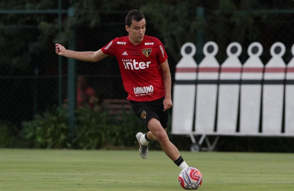 Pablo é o artilheiro do São Paulo na temporada, com quatro gols — Foto: Rubens Chiri/saopaulofc.net