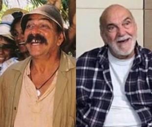 Lima Duarte interpretou o protagonista, Sassá Mutema, um homem puro e simples que aos poucos descobre a malícia e a maldade dos homens. Aos 90 anos, o ator está escalado para a segunda temporada de 'Aruanas' | Globo e reprodução