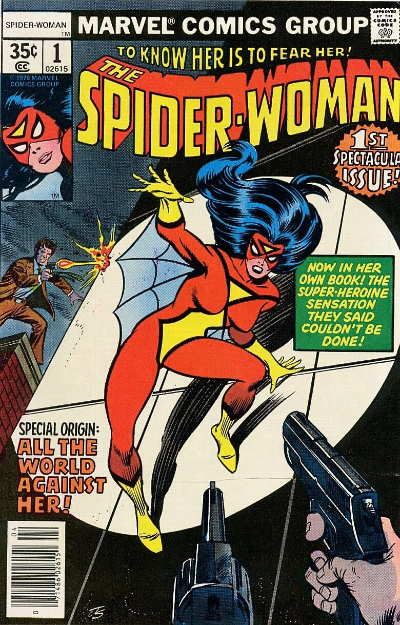 Capa de edição da HQ da Mulher-Aranha com o uniforme desenhado por Marie (Foto: reprodução)