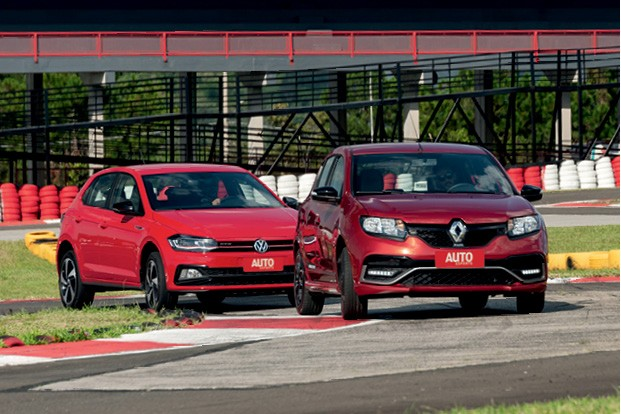 Comparativo Renault Sandero R.S. vs VW Polo GTS (Foto: Bruno Guerreiro)