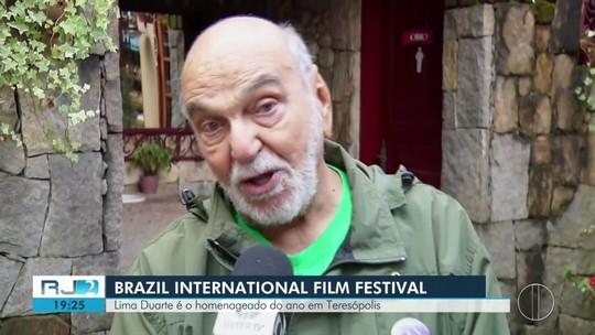 Lima Duarte é o homenageado do ano em festival de cinema em Teresópolis