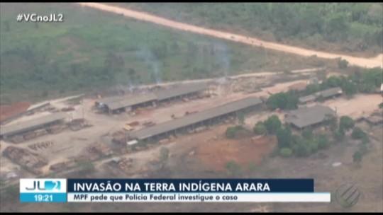 MPF pede ação da Polícia Federal contra invasão de madeireiros em terra indígena no PA