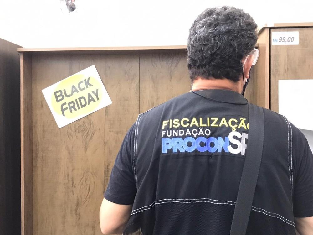 Operação Black Friday do Procon-SP autuou 12 lojas em Presidente Prudente — Foto: Fundação Procon-SP