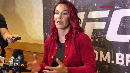 """Cyborg se desculpa com Bethe, e diz que aceitaria enfrentar Ronda """"forte"""""""