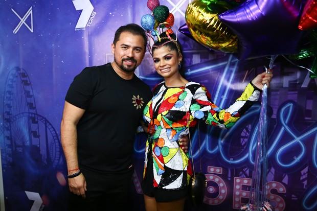 Xand Avião e a mulher, Isabelle Temoteo (Foto: Roberto Filho/Brazil News)