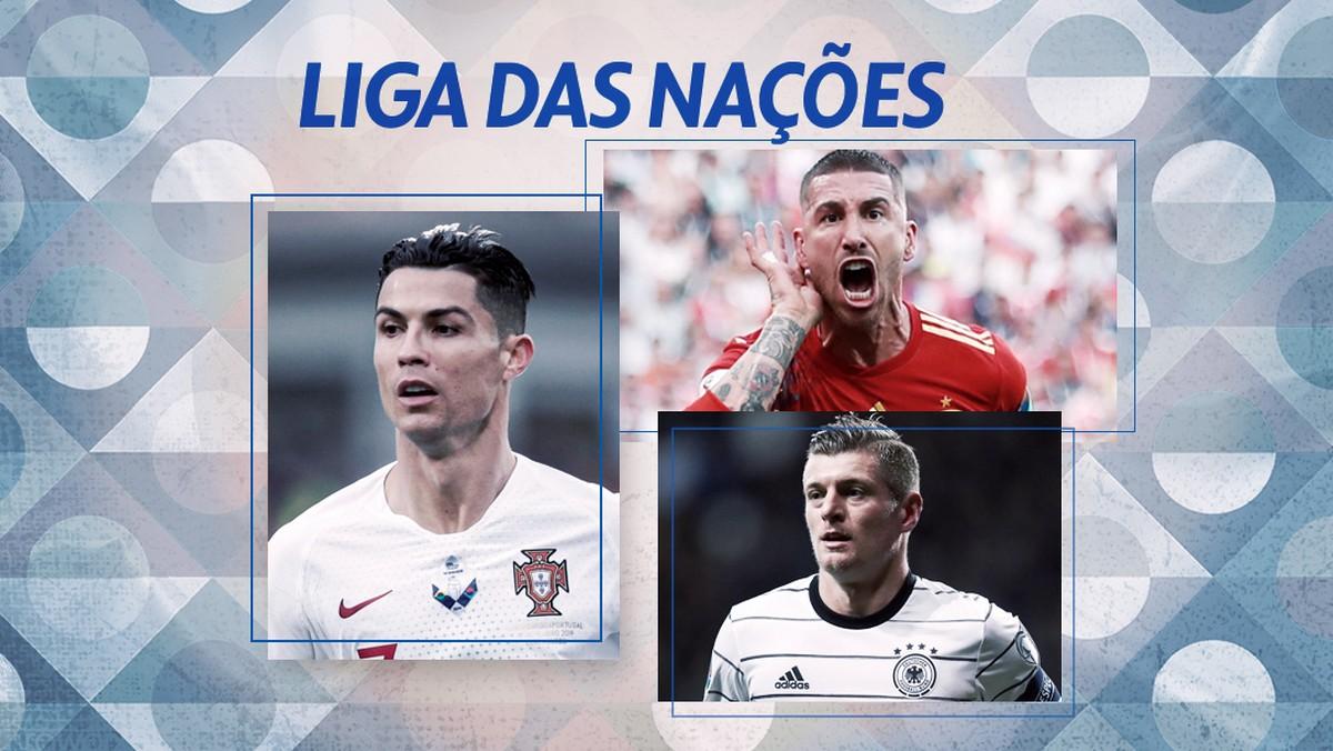 Liga Das Nacoes Volta Nesta Quinta Com Jogao Alemanha X Espanha Liga Das Nacoes Ge