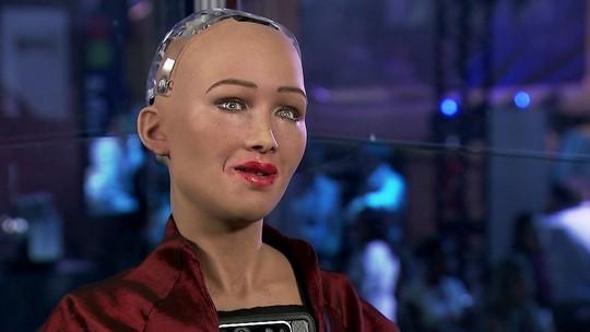 Conheça a robô mais inteligente do mundo