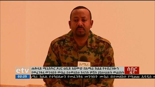 Tentativa de golpe de estado é contida na Etiópia