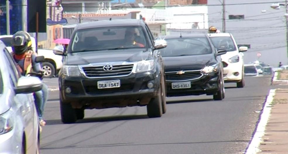 Multas por excesso de velocidade cai em Araguaína (Foto: Reprodução/TV Anhanguera)