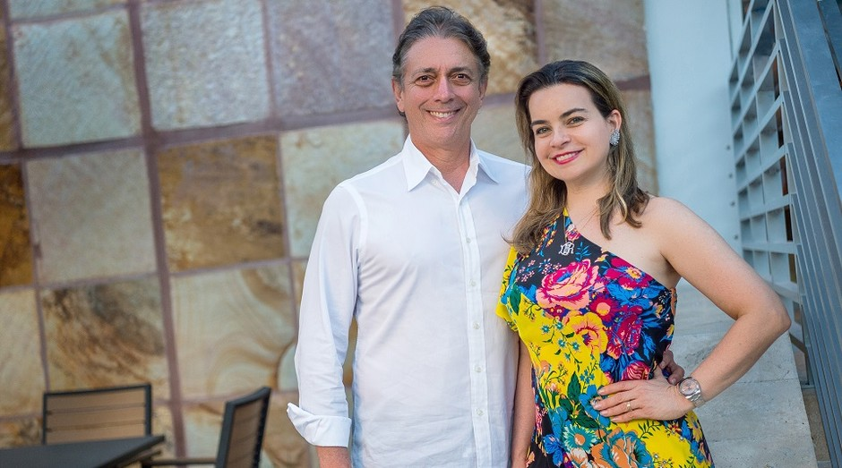 Afrânio Barreira e Daniela Barreira, fundadores do Coco Bambu (Foto: Tadeu Brunelli)