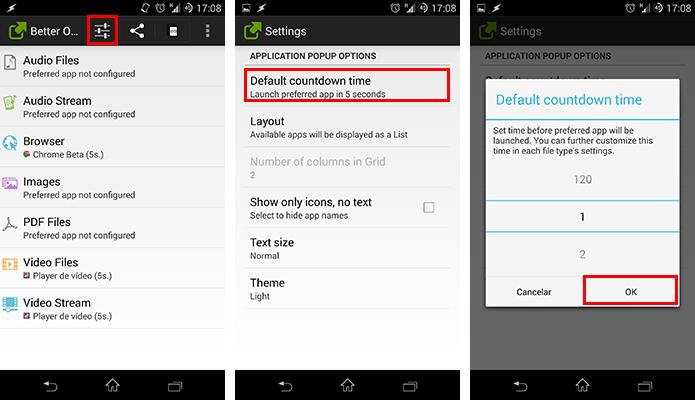 Programe o tempo de espera da lista de apps (Foto: Reprodução/Paulo Alves)