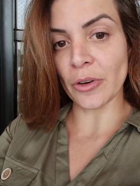 Renata Del Bianco fez um desabafo sobre transtornos alimentares no Instagram (Foto: Reprodução)