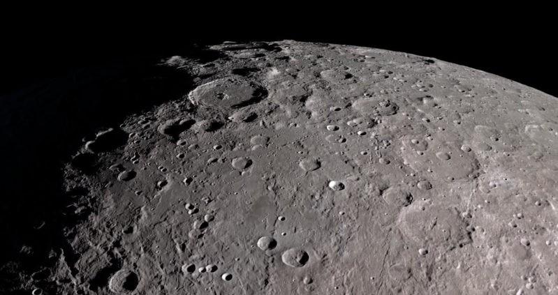 Superfície da Lua (Foto: Divulgação/NASA)