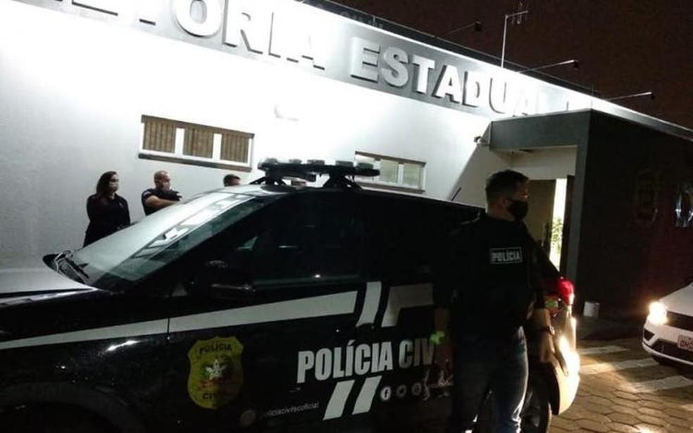 Segunda fase da Operação O2 — Foto: Polícia Civil/Divulgação